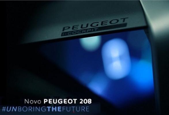Novo PEUGEOT 208 estreia tecnologia inédita no país
